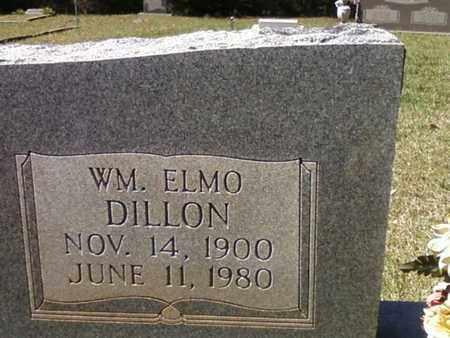 DILLON  , WILLIAM ELMO  (CLOSE UP) - Washington County, Louisiana | WILLIAM ELMO  (CLOSE UP) DILLON   - Louisiana Gravestone Photos