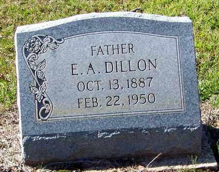 DILLON, E A - Washington County, Louisiana   E A DILLON - Louisiana Gravestone Photos
