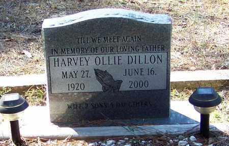 DILLON, HARVEY OLLIE - Washington County, Louisiana | HARVEY OLLIE DILLON - Louisiana Gravestone Photos