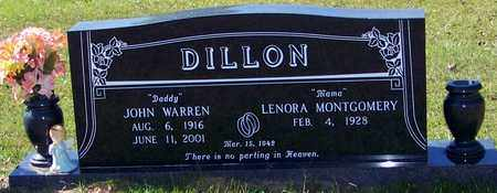 DILLON, JOHN WARREN - Washington County, Louisiana | JOHN WARREN DILLON - Louisiana Gravestone Photos