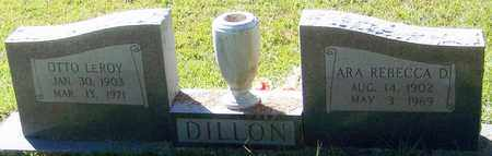 DILLON, OTTO LEROY - Washington County, Louisiana | OTTO LEROY DILLON - Louisiana Gravestone Photos