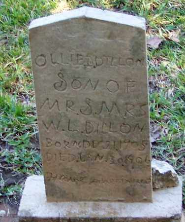 DILLON, OLLIE D - Washington County, Louisiana   OLLIE D DILLON - Louisiana Gravestone Photos