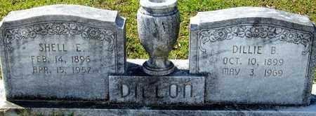 DILLON, SHELL E - Washington County, Louisiana | SHELL E DILLON - Louisiana Gravestone Photos