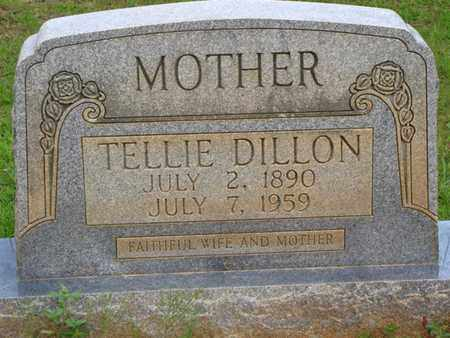 MOONEY DILLON, TELLIE - Washington County, Louisiana | TELLIE MOONEY DILLON - Louisiana Gravestone Photos