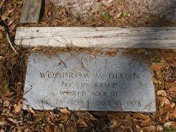 DIXON, WOODROW W (VETERAN WWII) - Washington County, Louisiana   WOODROW W (VETERAN WWII) DIXON - Louisiana Gravestone Photos