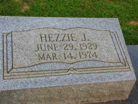 DLLON (CLOSE UP), HEZZIE J - Washington County, Louisiana | HEZZIE J DLLON (CLOSE UP) - Louisiana Gravestone Photos