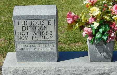 DUNCAN (CLOSE UP), LUCIOUS E - Washington County, Louisiana | LUCIOUS E DUNCAN (CLOSE UP) - Louisiana Gravestone Photos