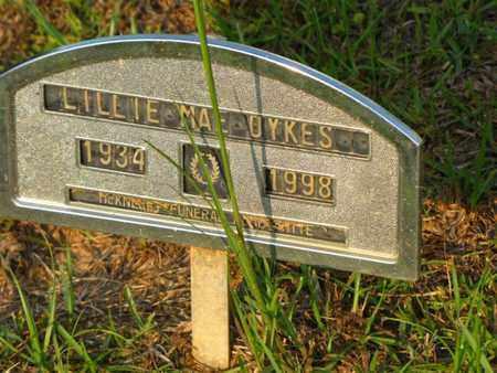 DYKES, LILLIE MAE - Washington County, Louisiana | LILLIE MAE DYKES - Louisiana Gravestone Photos