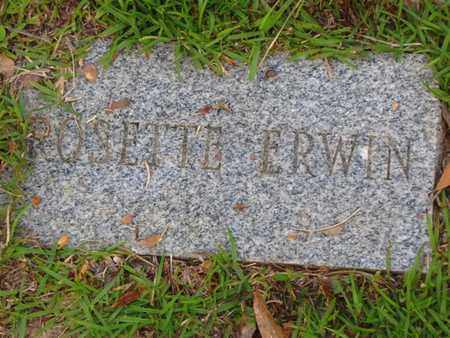ERWIN, ROSETTE - Washington County, Louisiana   ROSETTE ERWIN - Louisiana Gravestone Photos