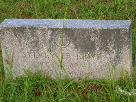ERWIN, SYLVESTER (VETERAN WWII) - Washington County, Louisiana | SYLVESTER (VETERAN WWII) ERWIN - Louisiana Gravestone Photos