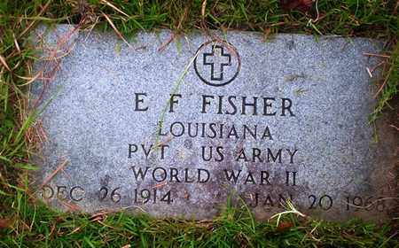 FISHER, ELI F  (VETERAN WWII) - Washington County, Louisiana | ELI F  (VETERAN WWII) FISHER - Louisiana Gravestone Photos