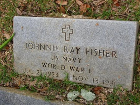 FISHER , JOHNNY RAY (VETERAN WWII) - Washington County, Louisiana | JOHNNY RAY (VETERAN WWII) FISHER  - Louisiana Gravestone Photos