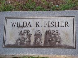 FISHER, WILDA - Washington County, Louisiana | WILDA FISHER - Louisiana Gravestone Photos