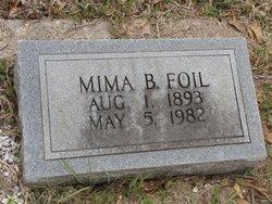 "FOIL, JEMIMA ""MIMA"" - Washington County, Louisiana | JEMIMA ""MIMA"" FOIL - Louisiana Gravestone Photos"