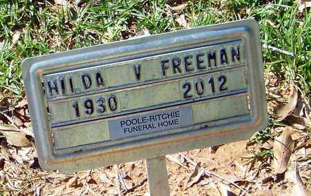 FREEMAN, HILDA V - Washington County, Louisiana | HILDA V FREEMAN - Louisiana Gravestone Photos