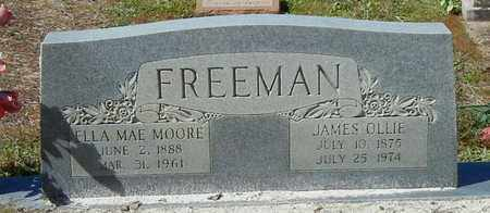MOORE FREEMAN, ELLA MAE - Washington County, Louisiana | ELLA MAE MOORE FREEMAN - Louisiana Gravestone Photos