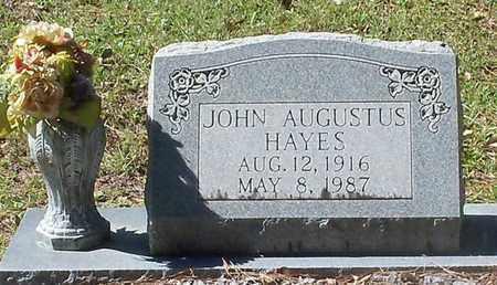 HAYES, JOHN AUGUSTUS - Washington County, Louisiana | JOHN AUGUSTUS HAYES - Louisiana Gravestone Photos
