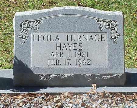 HAYES HAYES, LEOLA - Washington County, Louisiana | LEOLA HAYES HAYES - Louisiana Gravestone Photos