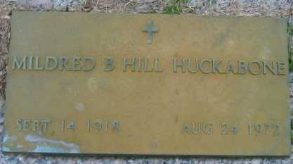 HUCKABONE, MILDRED B - Washington County, Louisiana   MILDRED B HUCKABONE - Louisiana Gravestone Photos