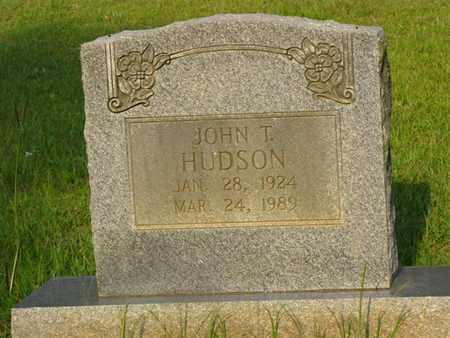 HUDSON, JOHN THOMAS - Washington County, Louisiana   JOHN THOMAS HUDSON - Louisiana Gravestone Photos
