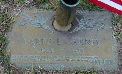 JANNEY, LARRY L - Washington County, Louisiana   LARRY L JANNEY - Louisiana Gravestone Photos