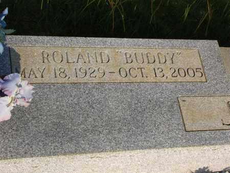 "JENKINS (CLOSE UP), ROLAND ""BUDDY"" - Washington County, Louisiana | ROLAND ""BUDDY"" JENKINS (CLOSE UP) - Louisiana Gravestone Photos"