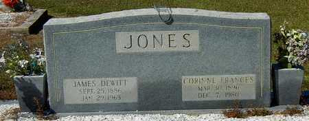 JONES, CORRINNE FRANCIS - Washington County, Louisiana   CORRINNE FRANCIS JONES - Louisiana Gravestone Photos