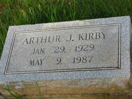 KIRBY, ARTHUR J - Washington County, Louisiana | ARTHUR J KIRBY - Louisiana Gravestone Photos