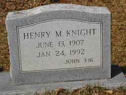 KNIGHT, HENRY M - Washington County, Louisiana | HENRY M KNIGHT - Louisiana Gravestone Photos