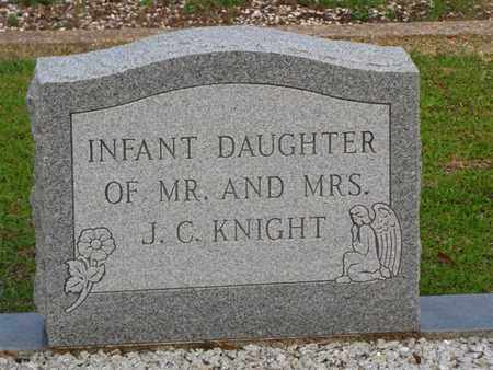 KNIGHT, INFANT DAUGHTER - Washington County, Louisiana | INFANT DAUGHTER KNIGHT - Louisiana Gravestone Photos