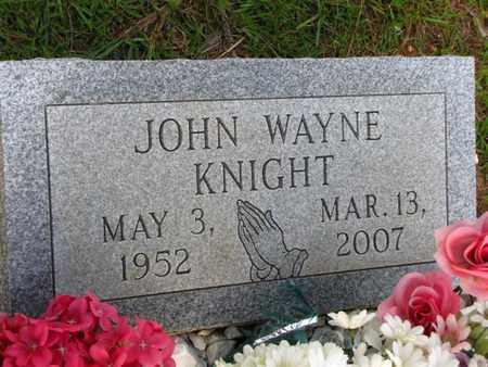 KNIGHT, JOHN WAYNE - Washington County, Louisiana | JOHN WAYNE KNIGHT - Louisiana Gravestone Photos