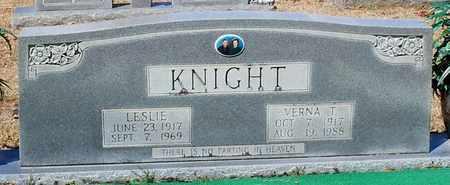 KNIGHT, LESLIE - Washington County, Louisiana | LESLIE KNIGHT - Louisiana Gravestone Photos