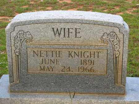 ELDRIDGE KNIGHT, NETTIE - Washington County, Louisiana   NETTIE ELDRIDGE KNIGHT - Louisiana Gravestone Photos