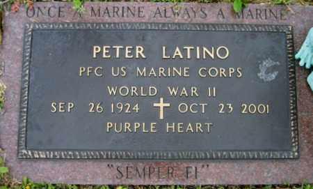 LATINO, PETER  (VETERAN WWII) - Washington County, Louisiana | PETER  (VETERAN WWII) LATINO - Louisiana Gravestone Photos