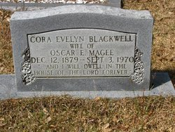 BLACKWELL MAGEE, CORA EVELYN - Washington County, Louisiana | CORA EVELYN BLACKWELL MAGEE - Louisiana Gravestone Photos