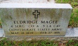 MAGEE, ELDRIDGE (VETERAN CSA) - Washington County, Louisiana | ELDRIDGE (VETERAN CSA) MAGEE - Louisiana Gravestone Photos