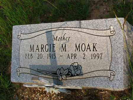 MOAK, MARGIE M - Washington County, Louisiana | MARGIE M MOAK - Louisiana Gravestone Photos