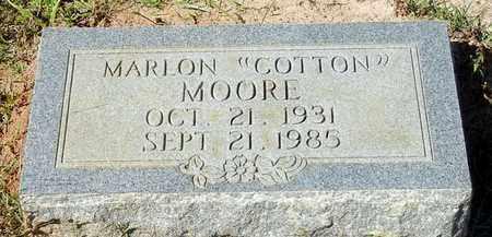 "MOORE, MARLON ""COTTON"" - Washington County, Louisiana | MARLON ""COTTON"" MOORE - Louisiana Gravestone Photos"