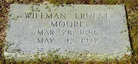 MOORE, WILMAN ERNEST - Washington County, Louisiana   WILMAN ERNEST MOORE - Louisiana Gravestone Photos