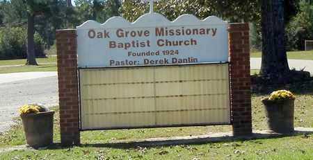 *OAK GROVE CHURCH SIGN,  - Washington County, Louisiana    *OAK GROVE CHURCH SIGN - Louisiana Gravestone Photos