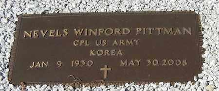 PITTMAN, NEVELS WINFORD (VETERAN KOR) - Washington County, Louisiana | NEVELS WINFORD (VETERAN KOR) PITTMAN - Louisiana Gravestone Photos