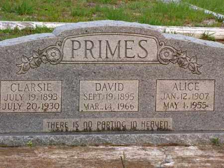PRIMES, CLARSIE - Washington County, Louisiana | CLARSIE PRIMES - Louisiana Gravestone Photos