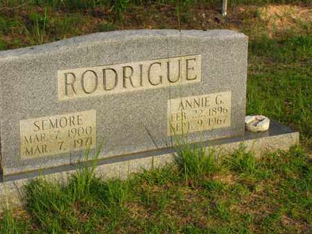 RODRIGUE, ANNIE G - Washington County, Louisiana | ANNIE G RODRIGUE - Louisiana Gravestone Photos