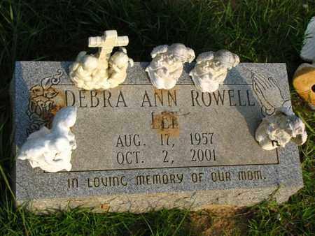 CALIHAN ROWELL, DEBRA ANN - Washington County, Louisiana   DEBRA ANN CALIHAN ROWELL - Louisiana Gravestone Photos
