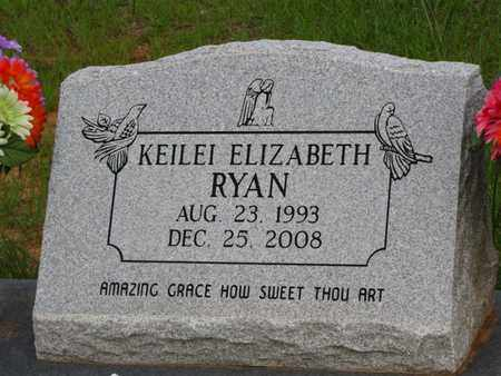 RYAN, KEILEI ELIZABETH - Washington County, Louisiana | KEILEI ELIZABETH RYAN - Louisiana Gravestone Photos