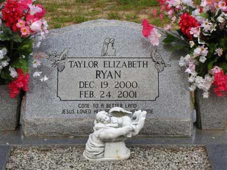 RYAN, TAYLOR ELIZABETH - Washington County, Louisiana | TAYLOR ELIZABETH RYAN - Louisiana Gravestone Photos