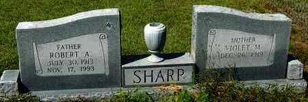 SHARP, ROBERT A - Washington County, Louisiana | ROBERT A SHARP - Louisiana Gravestone Photos