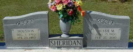 SHERIDAN, HOUSTON - Washington County, Louisiana | HOUSTON SHERIDAN - Louisiana Gravestone Photos