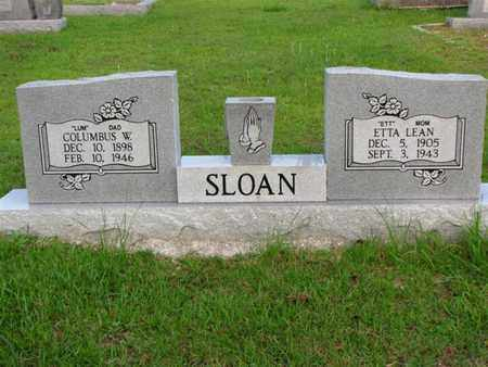 SLOAN, ETTA LEAN - Washington County, Louisiana | ETTA LEAN SLOAN - Louisiana Gravestone Photos