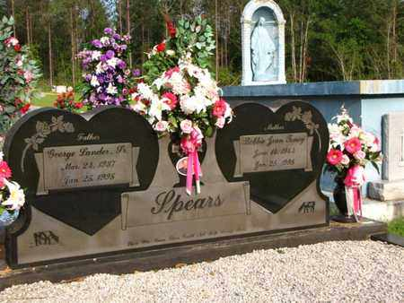 TONEY SPEARS, BOBBIE JEAN - Washington County, Louisiana | BOBBIE JEAN TONEY SPEARS - Louisiana Gravestone Photos